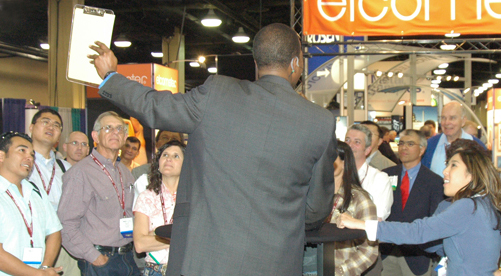 Charles Greene III trade show magic