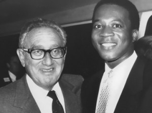 Dr. Henry Kissinger & Charles Greene III