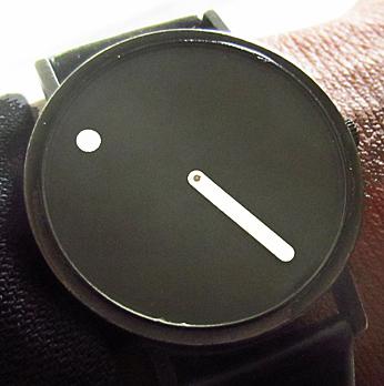 Picto watch presentation time