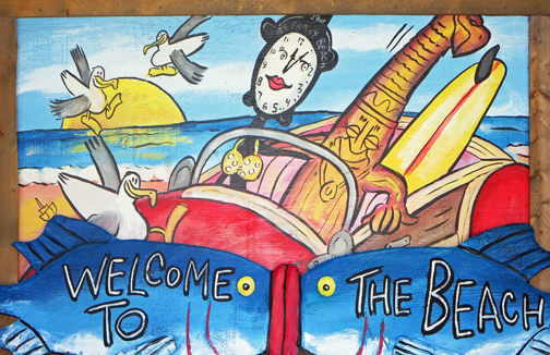 Bethany Beach Welcome Sign