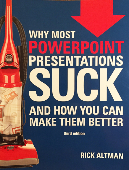 Rick Altman - Whey Most PowerPoint Presentations Suck and How You Can Make Them Better