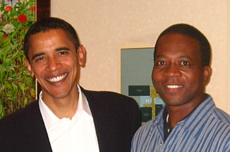 Presentation Structure: President Barack Obama & Charles Greene III